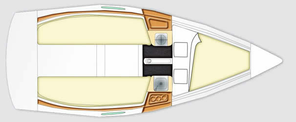 beneteau First 20 plan